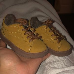 Tan/Brown Low Top Shoes for Babies